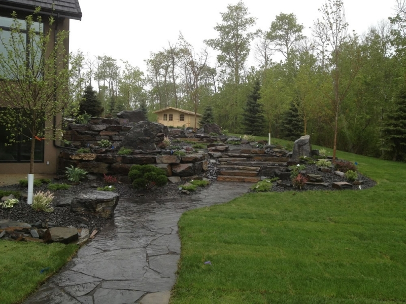 Backyard Custom Stonework